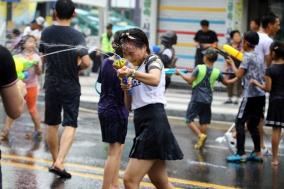 [포토] '천안 광복런 2018' 축제 속으로