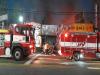 천안 두정역 사거리 식당가 화재…3곳 전소
