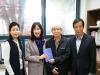 '민촌 이기영 평전' 천안 중앙도서관 기증