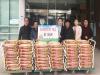 성환읍 안궁1리 한명수 이장, 소외계층에 쌀 100포 전달