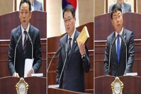 이준용·김선태·이종담, 5분 발언 통해 정책 대안 제시