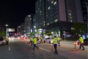 충남·세종지역 음주교통사고 여전...음주운전자 229명 단속