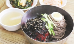 천안 유량동 '봉평장터' 메밀막국수