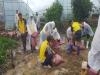 법사랑천안아산연합회, 폭우피해 농가 찾아 힘 보태