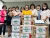 천안시어린이집연합회 가정분과, 이재민 위한 위문품 전달