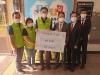 천안중앙교회, 부성1동에 쌀 100포 기부