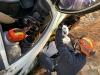 동남소방서, 흑성산 전망대 도로에 전도된 차량서 인명구조