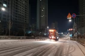 천안시, '대설·한파' 재난안전대책본부 가동…현장대응에 총력