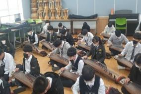 충남교육청, '1학생 1전통악기 연주하기' 운영