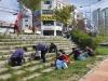 신안동 통장협의회, 천안천 환경정비 활동 펼쳐