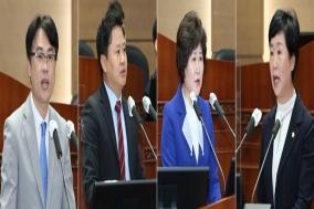 정병인·이은상·김월영·엄소영 의원, 5분발언 통해 시정방향 제시